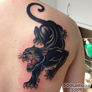 30 Panther Tattoo Ideas For Boys and Girls_4