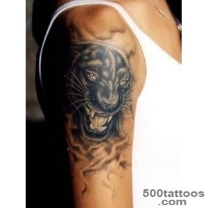 30 Panther Tattoo Ideas For Boys and Girls_32