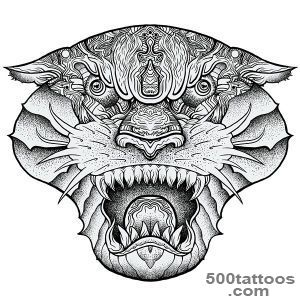 Panther Tattoo Ideas (5 photos)  Best Tattoo Ideas Gallery_42