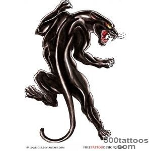Panther Tattoos  Black Panther Tattoo Designs_1