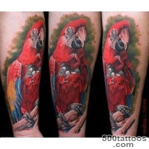 Parrot Tattoo Images amp Designs_24