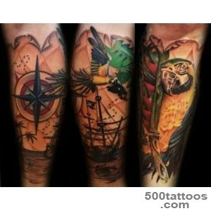 Parrot Tattoo Images amp Designs_45