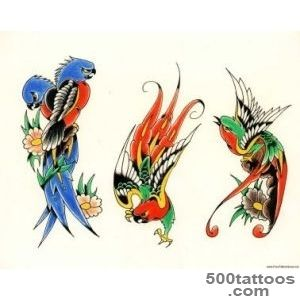 Pin Parrot Tattoos on Pinterest_25