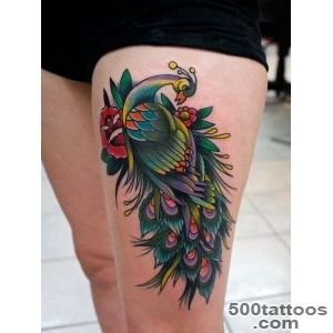 55+ Peacock Tattoo Designs  Art and Design_5