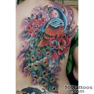 55+ Peacock Tattoo Designs  Art and Design_15