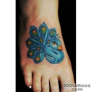 61 Beautiful Peacock Tattoo Pictures and Designs   Piercings Models_27