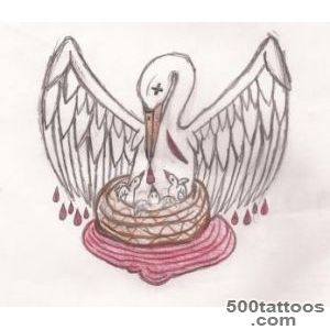 DeviantArt More Like Pelican Self Sacrifice Tattoo by winwinsituation_30