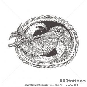 Pelican Tattoo Stock Photos, Images, amp Pictures  Shutterstock_29