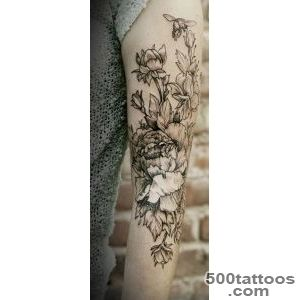 50 Peony Tattoo Designs and Meanings  Art and Design_46