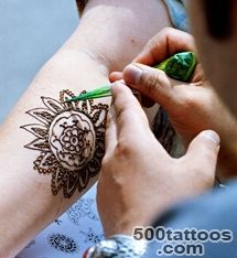 Permanent Henna Tattoo lt Images amp galleries_34