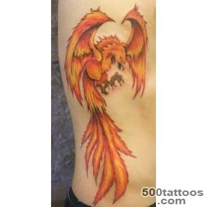 50 Beautiful Phoenix Tattoo Designs  Art and Design_3