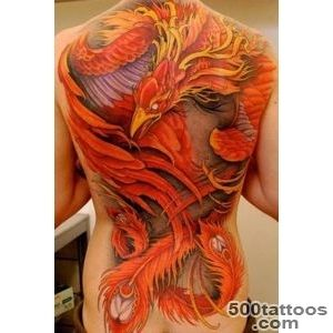 50 Beautiful Phoenix Tattoo Designs  Art and Design_6