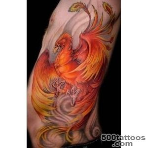 50 Beautiful Phoenix Tattoo Designs  Art and Design_11