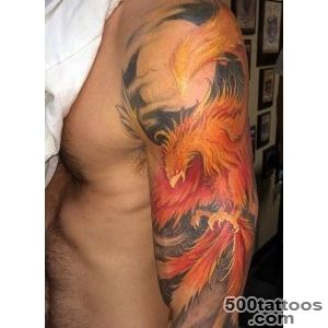 60 Phoenix Tattoo Designs For Men   A 1,400 Year Old Bird_48