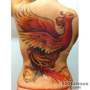 110 Stunning Phoenix Tattoos And Their Meanings [2016]_4