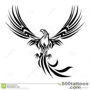 Phoenix Tattoo Stock Illustration   Image 64050106_16