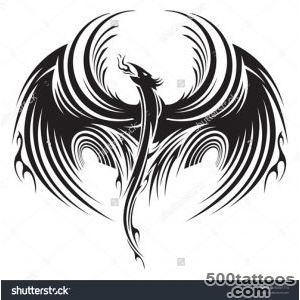 Phoenix Tattoo Stock Photos, Images, amp Pictures  Shutterstock_35