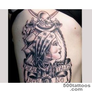 30 Mind Blowing Pirate Tattoos   SloDive_10