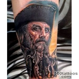 50 Pirate Tattoos For Men   Arrr, Ships And Eye Patches_25