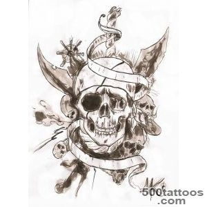 Pirate Tattoo Images amp Designs_14