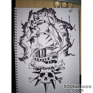 Pirate Tattoos, Designs And Ideas  Page 3_48