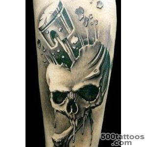 32 Piston Tattoos   Meanings, Photos, Designs for men and women_41