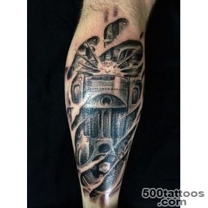 60 Piston Tattoo Designs For Men   Unleash High Horsepower_1