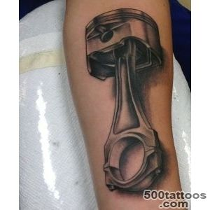 70 Car Tattoos For Men   Cool Automotive Design Ideas_22