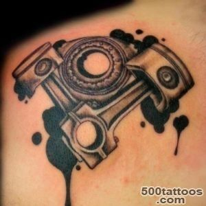 1000+ ideas about Piston Tattoo on Pinterest  Mechanic Tattoo _13