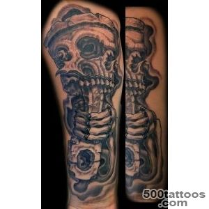 Pin Skull Piston Tattoo Car on Pinterest_15