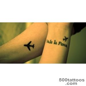 29 Attractive Aeroplane Wrist Tattoos_3