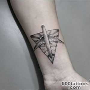 Plane Tattoo Designs Ideas Meanings Images