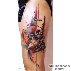 Tattooligans Thessaloniki Greece Plane tattoo tattoo idea _42