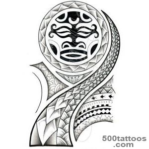 DeviantArt More Like polynesian maori samoan tattoo design _45