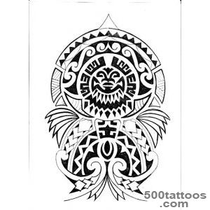Polynesian Tattoo Designs    Tatoos  Pinterest  Polynesian _43