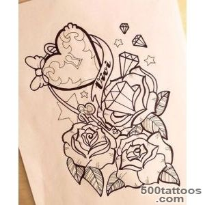 Girly Anchor Tattoos  girly anchor tattoo drawings   Popular _38
