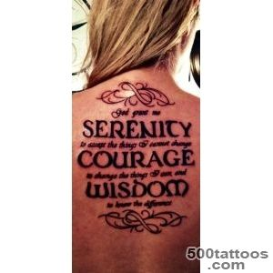 20 Nice Serenity Prayer Tattoo Designs   SloDive_8