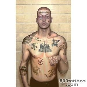 Prison Tattoos and Their Secret Meanings  Teargas Lawi_45