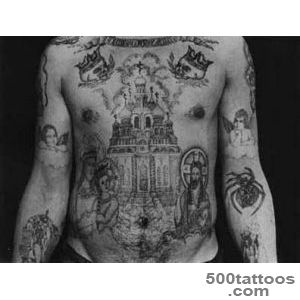 The Symbolism Of Russian Prison Tattoos   Gallery  eBaum#39s World_6