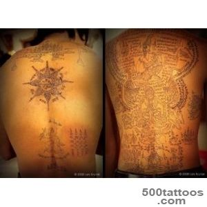 Magical Tattoos of Thailand#39s Mahouts Elephant Trainers of _38