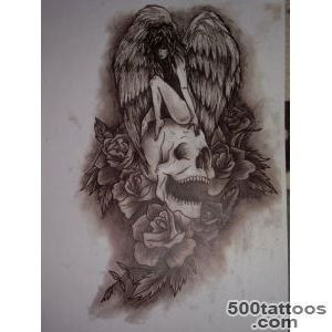 Pin Protection After Death Tattoo Design on Pinterest_34