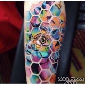 Awesome psychedelic tattoo by Alex Bruz_2
