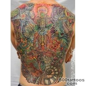 Pin Psychedelic Tattoos On Pinterest Fractal Tattoo Japanese Mask _14