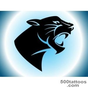 Panther Tattoo Vector Art amp Graphics  freevectorcom_28