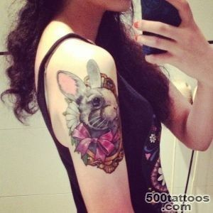 20 Rabbit Tattoo Images, Pictures And Design Ideas_26