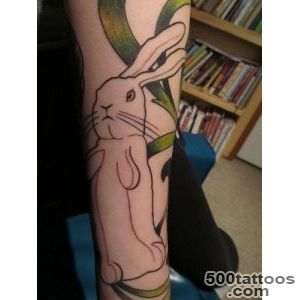26 Rabbit Tattoos   Hop to Pop_35