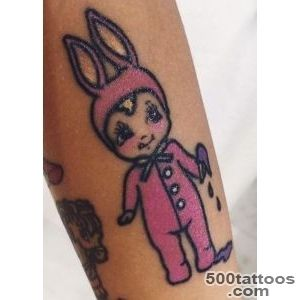 Celebrity Rabbit Tattoos  Steal Her Style_29
