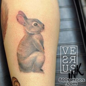 Cute Rabbit Tattoo  Best tattoo ideas amp designs_24