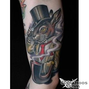 Put a Spring in Your Step with Rabbit Tattoos « Tattoo Articles _11
