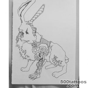 Rabbit Tattoo  Best Design Tattoo_30